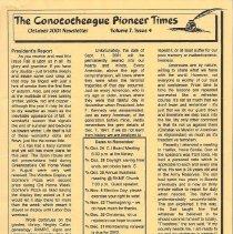 Image of 2001.1.4 - Conococheague Pioneer Times