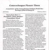 Image of 2003.2.2 - Conococheague Pioneer Times