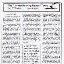 Image of 1999.1.2 - Conococheague Pioneer Times