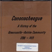 Image of Conococheague : A History of the Greencastle-Antrim Community, 1736-1971