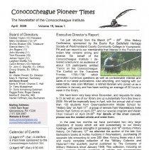 Image of 2009.8.1 - Conococheague Pioneer Times