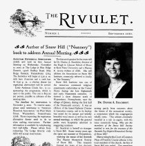 Image of The Rivlet, September 2010, No. 1