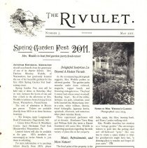 Image of 2011.211.2 - The Rivlet, Number 3, May 2011