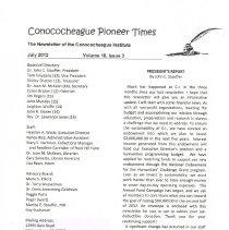 Image of 2012.627.3 - Conococheague Pioneer Times