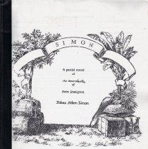 Image of Simon : A Partial Record of the Descendants of Swiss Immigrant, Johan Adam Simon, Part 1; Simon: Update on the Partial Record of the Descendants of John Adam Simon, 1716-2001, Part 2.
