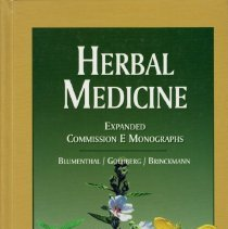 Image of Herbal Medicine: Expanded Commission E Monographs.