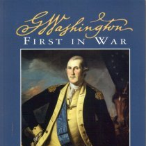 Image of George Washington: First in War.