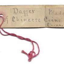Image of 96.0059 Old Handwritten Tag