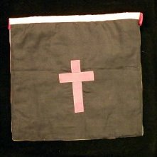 Image of Rose Croix apron reverse, English, 20th century