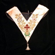 Image of Rose Croix collar and jewel, English, 20th century