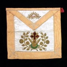 Image of Apron and Collar, Fraternal - 2000.35