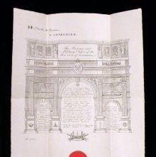Image of Patent, or membership certificate belonging to Lafayette Oscar Holloman, Jr