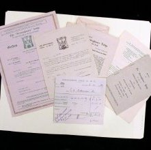 Image of Papers, assorted, belonging to Lafayette Oscar Holloman, Jr.