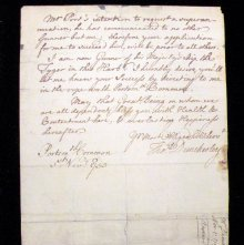 Image of Nov. 1, 1753 letter by Thomas Dunckerley (page 2)