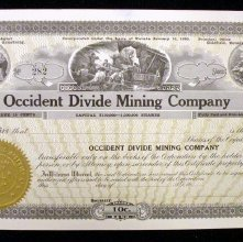 Image of Occident Divide Mining Company (blank)