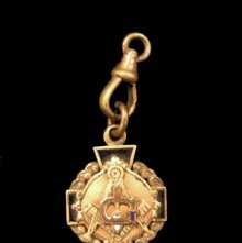 Image of Watch fob, fraternal - 2010.2