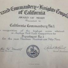 Image of 2012.3.2 - Certificate, Achievement