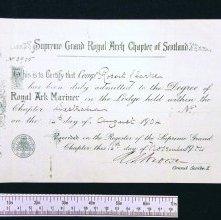 Image of 422.2 - Certificate, Membership