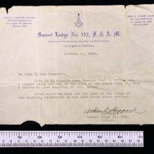 Image of 473 - Letter, Certification