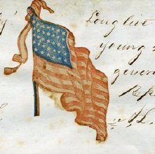 Image of Lincoln's autograph (detail)