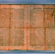 Image of Anti-Masonic Newspaper 1827