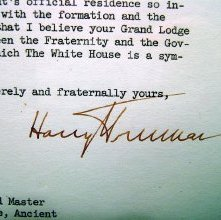 Image of 788.3 Truman Letter Signature Detail
