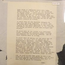 Image of Letter by Robert P. Tuttle, Palestine Lodge #351. 1941