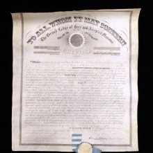 Image of 89.8 - Certificate, Charter