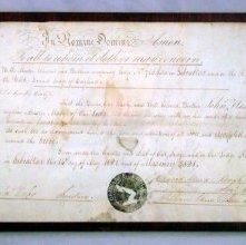 Image of 92.10.1 - Certificate, Membership