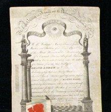 Image of 92.16.2 - Certificate, Membership