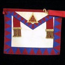 Image of Apron and Collar, Fraternal - 94.13