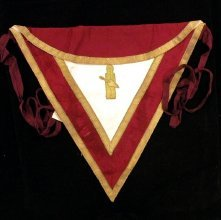 Image of Apron and Collar, Fraternal - 96.31