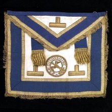 Image of Apron and Collar, Fraternal - 96.37