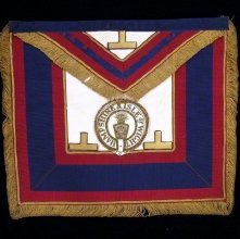 Image of Apron and Collar, Fraternal - 96.43