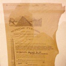 Image of 98.25.1 - Certificate, Dispensation