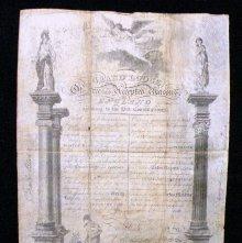 Image of 987 - Certificate, Membership