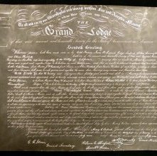 Image of 991 - Certificate, Charter