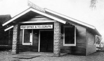 Image of Lykken's General Store, Post Office etc.  C. 1915   [01]  We have 1 color slide of this image  - 12-254