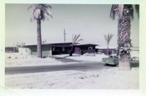 Image of Tony Burke's home; 73408 Little Bend Trail in the Silver Spur Ranch neighborhood, Palm Desert c. 1958  color - 33-205