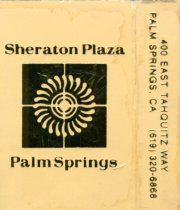 Image of Sheraton Plaza. 400 East Tahquitz Way.                                                                                                                                                                                                                         - 104-086