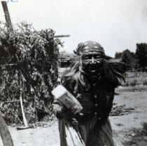 Image of Unidentified old Indian woman.                                                                                                                                                                                                                                 - 111-159