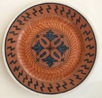 "Image of Desert Inn dinner plate.   9.5"" diameter