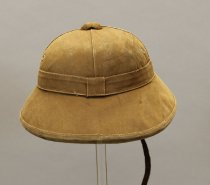 Image of 1979.017.001.1-.2 - Helmet, Pith