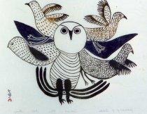 Image of Gathering of Birds