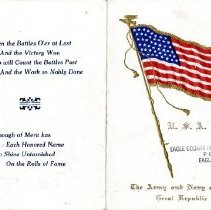 Image of Invitation July 4th 1919