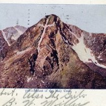 Image of Mount of the Holy Cross postcard