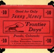 Image of Funny Money, Frontier Days, Pando