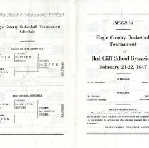 Image of Eagle County Basketball Tourn. 1947