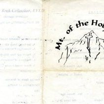 Image of Program, Memorial Day 1976, Red Cliff