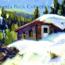 Image of Frenchy's Cabin, Water St., Red Cliff, Barb Bomier